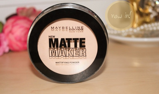 Maybelline Matte Maker Mattifying Powder [20 Nude Beige] - kurze Review beauty blog mattes puder neu new august 2014