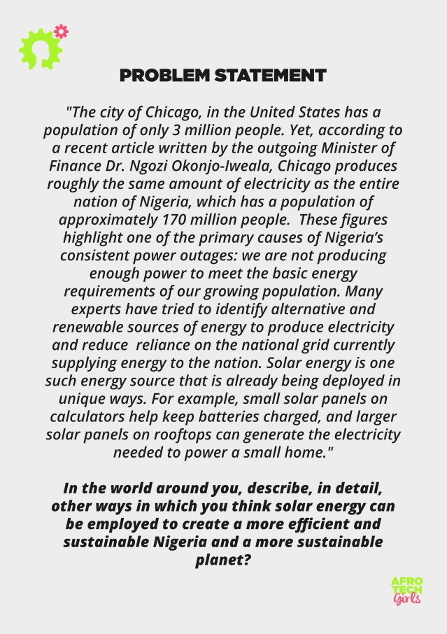 Solar Essay Competition Flyer Back