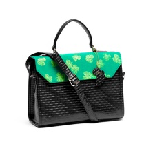 Green mean satchel